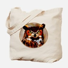 Owl Be Seeing You in Circle Tote Bag