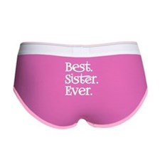 Best Sister Ever Women's Boy Brief