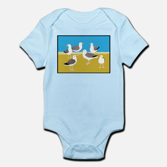 Gang of Seagulls Body Suit