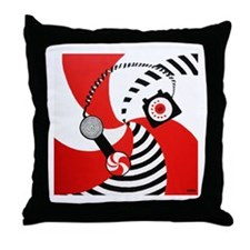 The White Stripes Jack White Original Throw Pillow