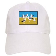 Gang of Seagulls Baseball Baseball Cap