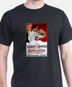 Blood and Sand Movie Poster T-Shirt