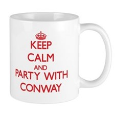 Keep calm and Party with Conway Mugs