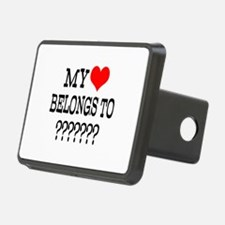 Personalize My Heart Belongs To Hitch Cover