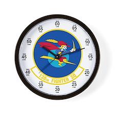 138th Attack Squadron Wall Clock