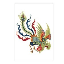 Chinese Rooster Postcards (Package of 8)