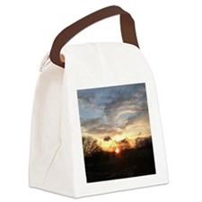 Sunrise Canvas Lunch Bag