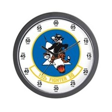 152d Fighter Squadron Wall Clock