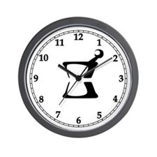 Mortar and Pestle Clock Wall Clock