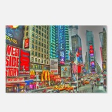 Times Square Postcards (Package of 8)