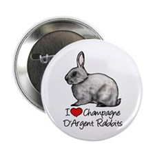 I Heart Champagne DArgent Rabbits 2.25