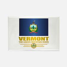 Vermont Flag (v15) Magnets