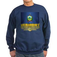Vermont Flag (v15) Sweatshirt