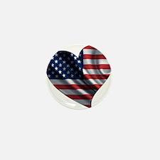 AM HEART Mini Button