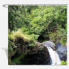 Maui_falls Shower Curtain