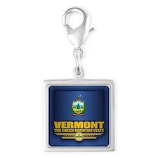 Vermont Flag (v15) Charms