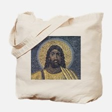 Black Jesus Tote Bag