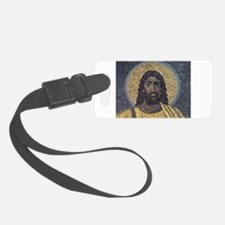 Black Jesus Luggage Tag