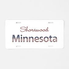 Custom Minnesota Aluminum License Plate