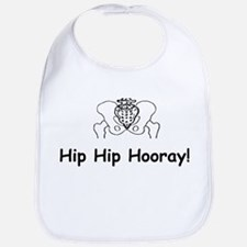 Hip Hip Hooray Bib