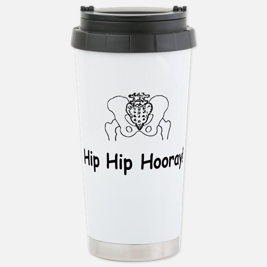 Hip Hip Hooray Travel Mug