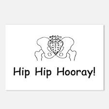 Hip Hip Hooray Postcards (Package of 8)