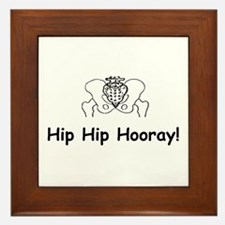 Hip Hip Hooray Framed Tile