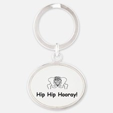 Hip Hip Hooray Keychains