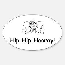 Hip Hip Hooray Decal