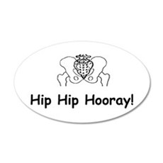Hip Hip Hooray Wall Decal