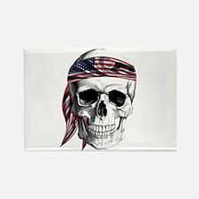 Skull America Magnets