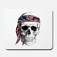Skull America Mousepad