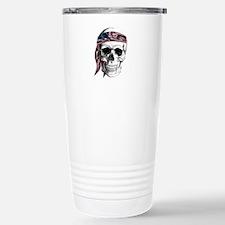 Skull America Travel Mug