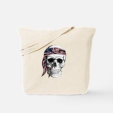 Skull America Tote Bag