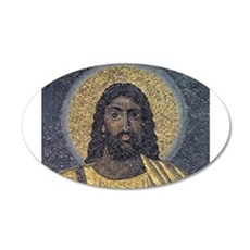 Black Jesus Wall Decal