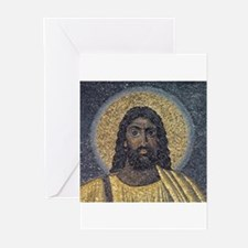 Black Jesus Greeting Cards