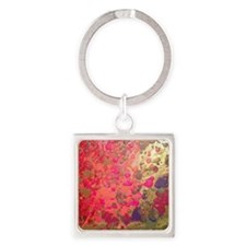 Field of poppies Square Keychain