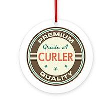 Curler Vintage Ornament (Round)