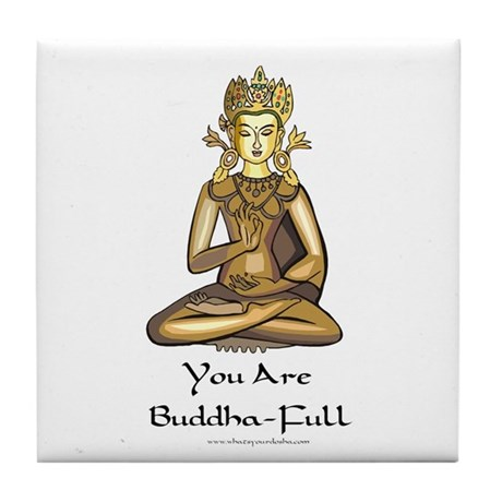 Inspired Store Buddha-Full Candle Tile