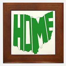 Ohio Home Framed Tile