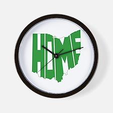 Ohio Home Wall Clock