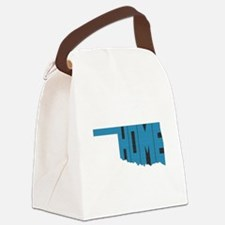 Oklahoma Home Canvas Lunch Bag