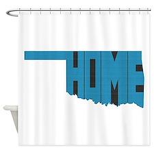 Oklahoma Home Shower Curtain