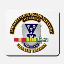 2nd Bn - 503rd Infantry (Airborne) - Vie Mousepad
