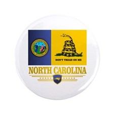 "North Carolina Gadsden 3.5"" Button"