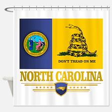 North Carolina Gadsden Shower Curtain
