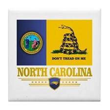 North Carolina Gadsden Tile Coaster