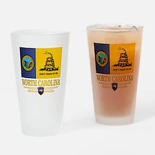 North Carolina Gadsden Drinking Glass