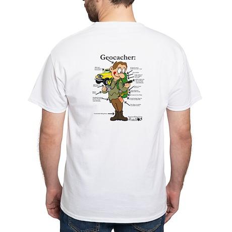 01x White T-Shirt