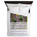 Happiness is a Butterfly Queen Duvet